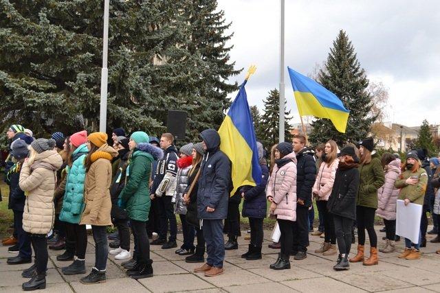 У Кам'янці-Подільському провели урочисте зібрання до Дня Гідності та Свободи, фото-13