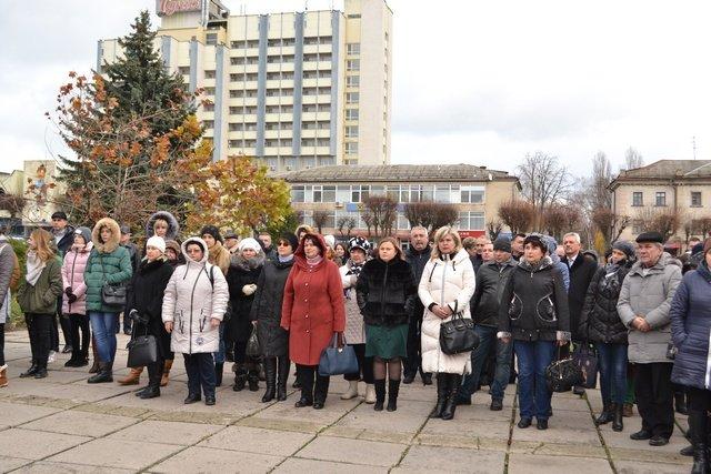 У Кам'янці-Подільському провели урочисте зібрання до Дня Гідності та Свободи, фото-14