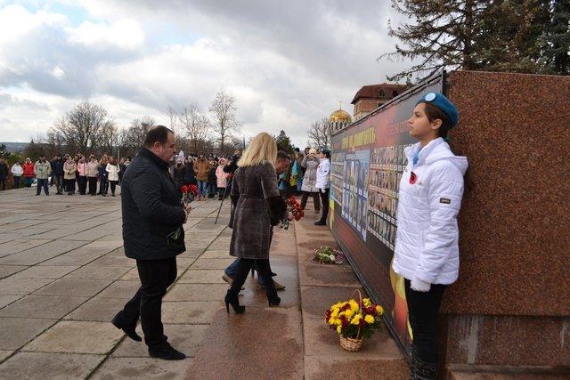 У Кам'янці-Подільському провели урочисте зібрання до Дня Гідності та Свободи, фото-8