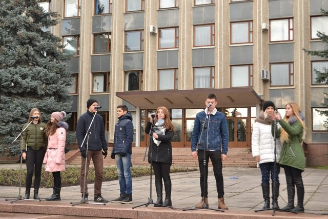 У Кам'янці-Подільському провели урочисте зібрання до Дня Гідності та Свободи, фото-9