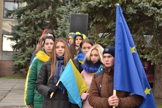У Кам'янці-Подільському провели урочисте зібрання до Дня Гідності та Свободи, фото-10