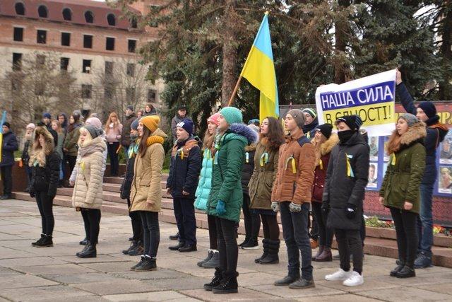 У Кам'янці-Подільському провели урочисте зібрання до Дня Гідності та Свободи, фото-15