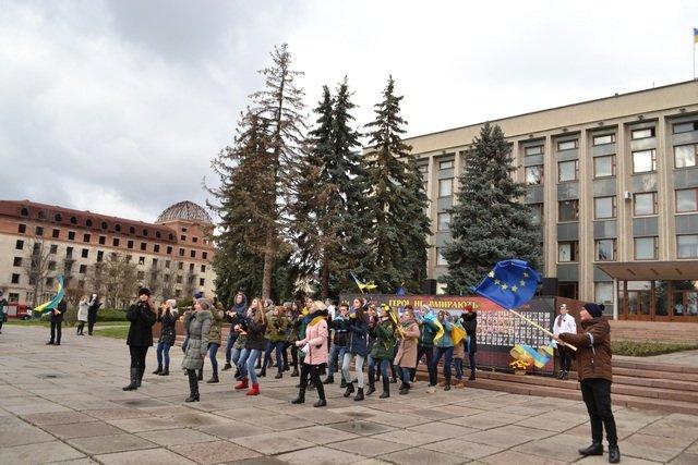 У Кам'янці-Подільському провели урочисте зібрання до Дня Гідності та Свободи, фото-11