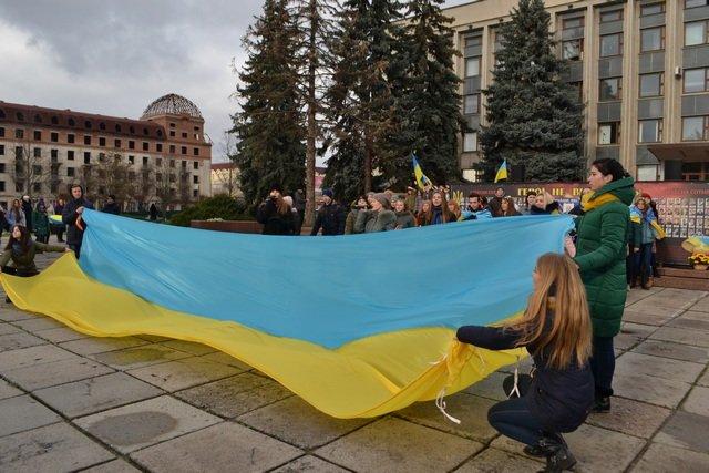 У Кам'янці-Подільському провели урочисте зібрання до Дня Гідності та Свободи, фото-12
