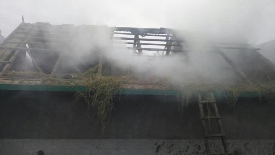 Пожежа у селі Велика Слобідка, фото-2