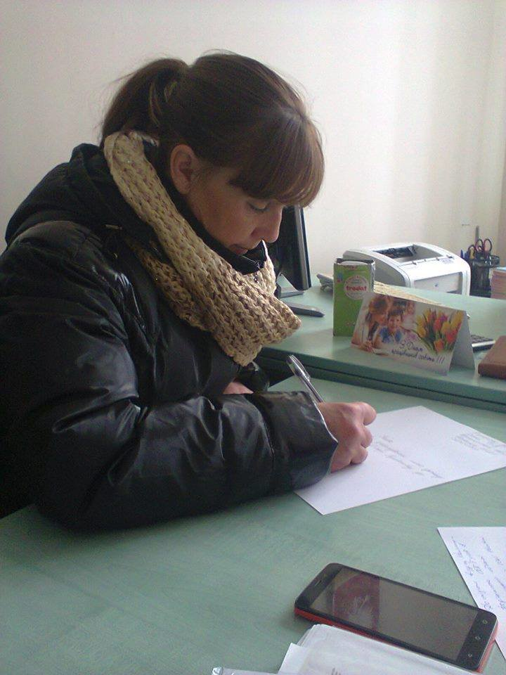 Мати написала заяву в поліцію на НВК №13, фото-1
