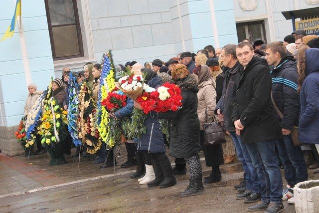 Попрощались з кам'янецьким героєм України, фото-1