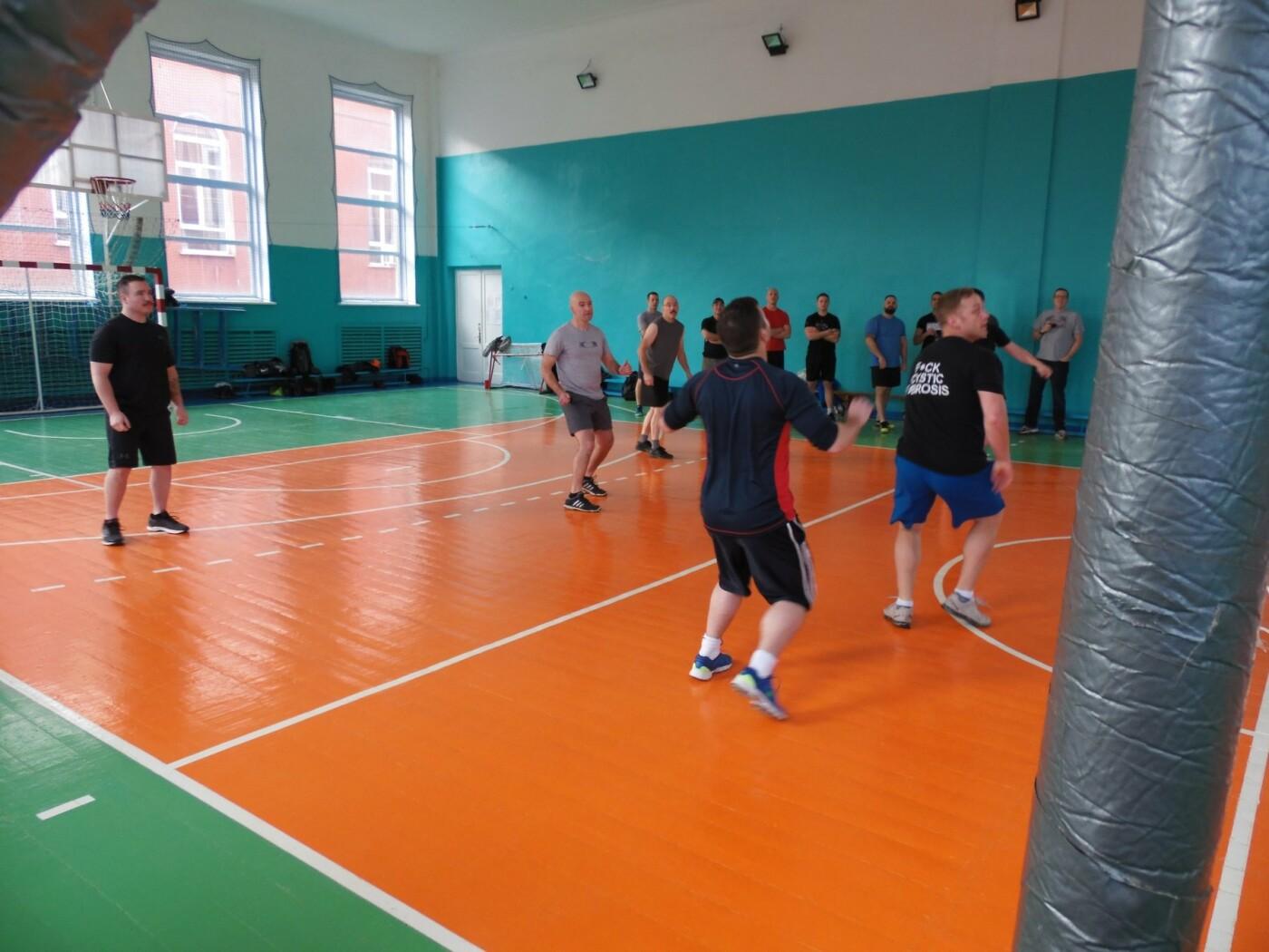 Товариський волейбольний мачт між військовими, фото-2