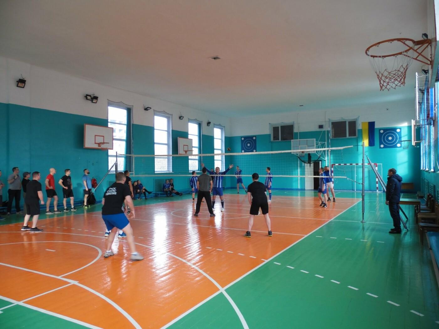 Товариський волейбольний мачт між військовими, фото-3