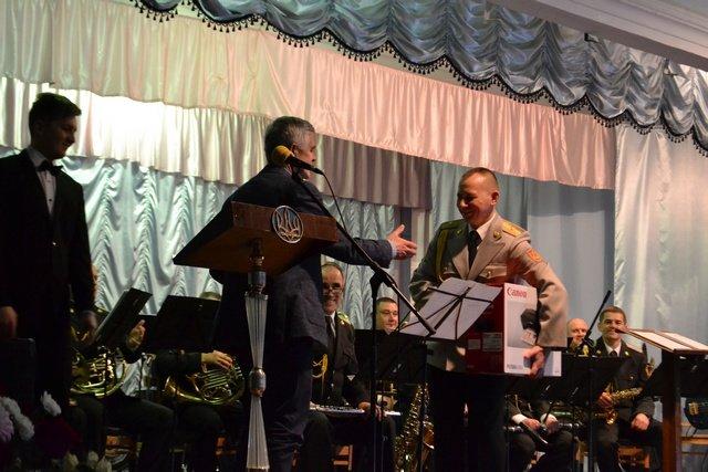 Військовий оркестр Кам'янця відзначив півстолітній ювілей, фото-7