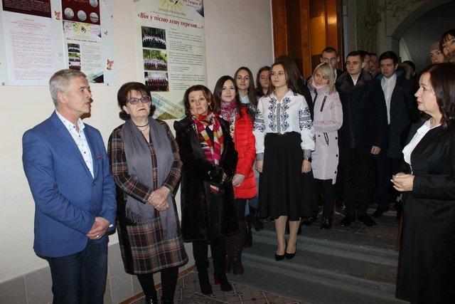 У Кам'янці відкрили пам'ятну дошку Миколі Леонтовичу, фото-1