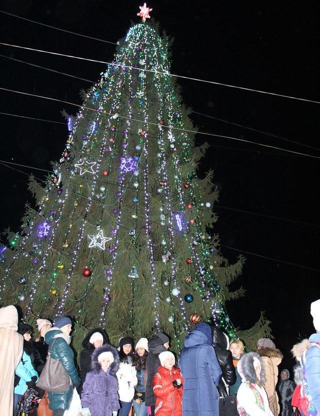 Де в Хмельницькій області найгарніша новорічна ялинка, фото-6