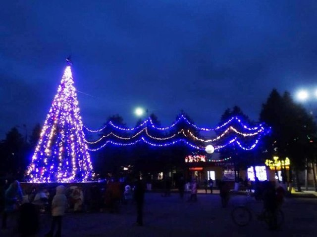 Де в Хмельницькій області найгарніша новорічна ялинка, фото-11