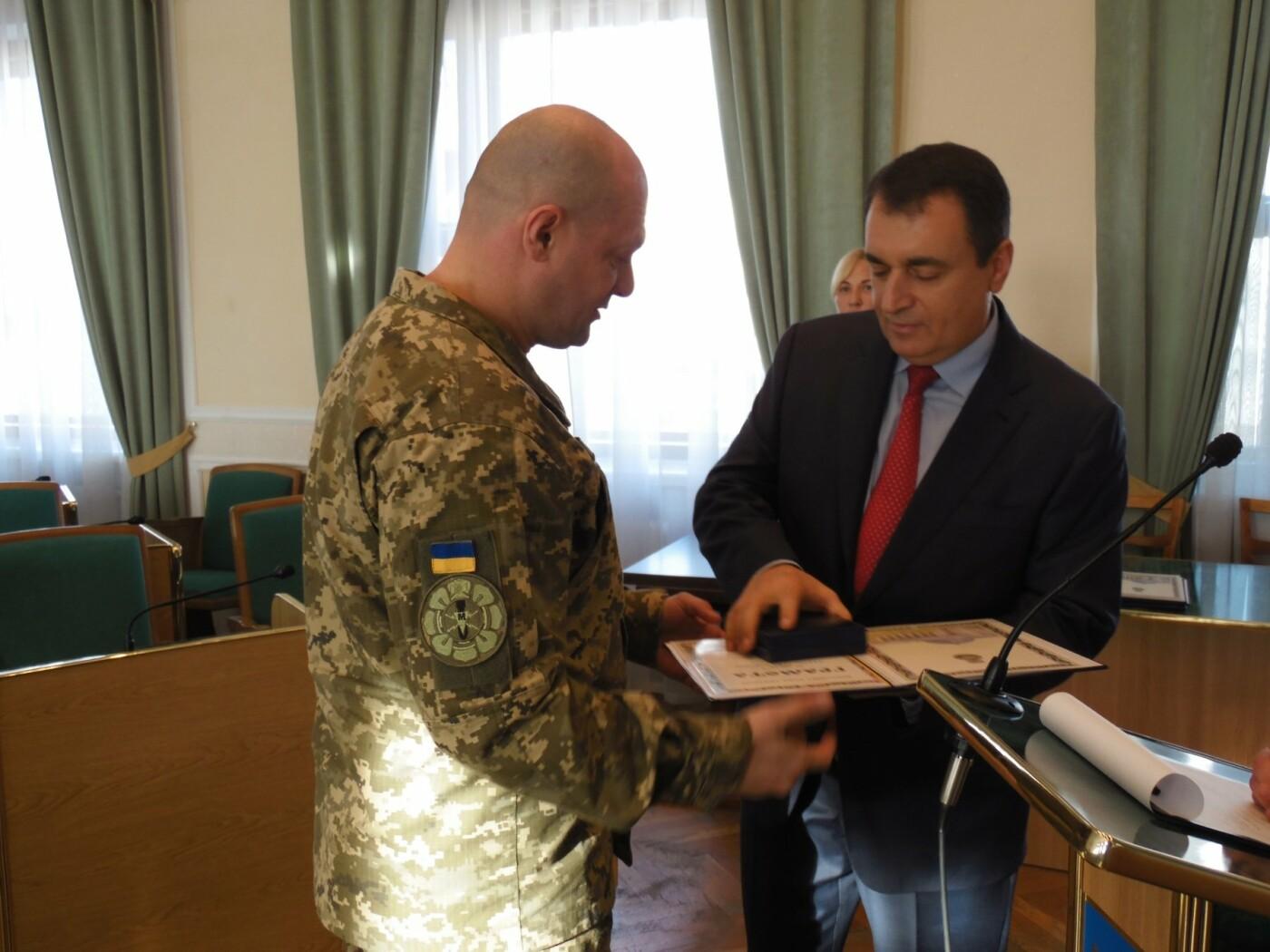 Кам'янецькі військові отримали нагороди від Верховної Ради України, фото-1