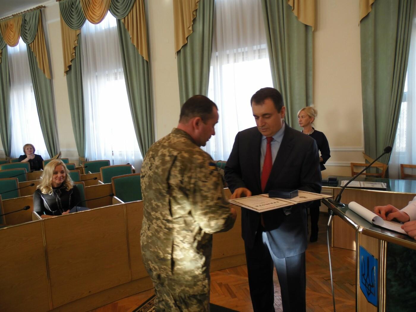 Кам'янецькі військові отримали нагороди від Верховної Ради України, фото-2
