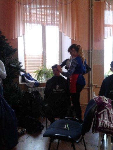Студенти Подільського центру ПТО відвідали дітей-інвалідів та школу-інтернат, фото-2