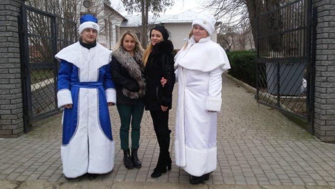 Студенти Подільського центру ПТО відвідали дітей-інвалідів та школу-інтернат, фото-6
