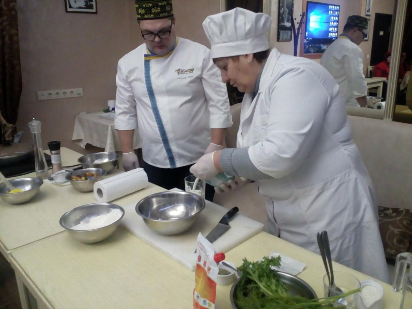 Студенти Подільського центру ПТО відвідали кулінарний майстер-клас у одному із ресторанів Кам'янця, фото-2