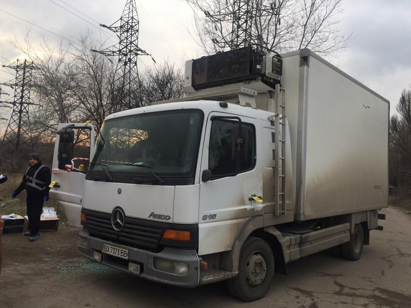 Автомобіль підприємця із Кам'янця-Подільського розстріляли у Запоріжжі, фото-1