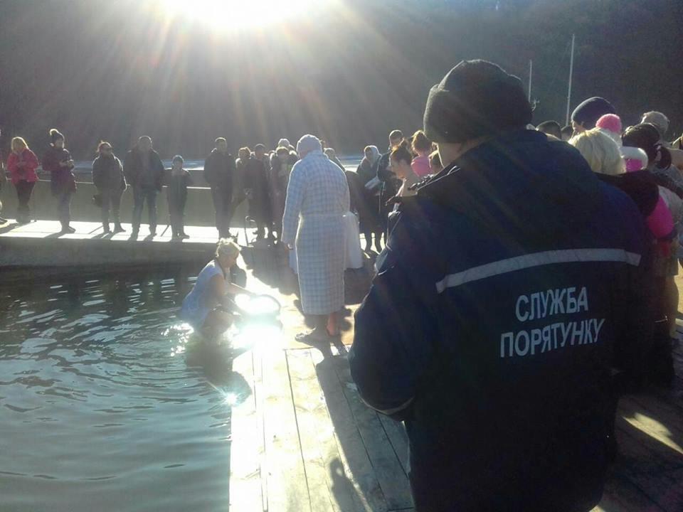 Рятувальники Кам'янеччини подбали про безпеку під час водохрещенських купань, фото-1
