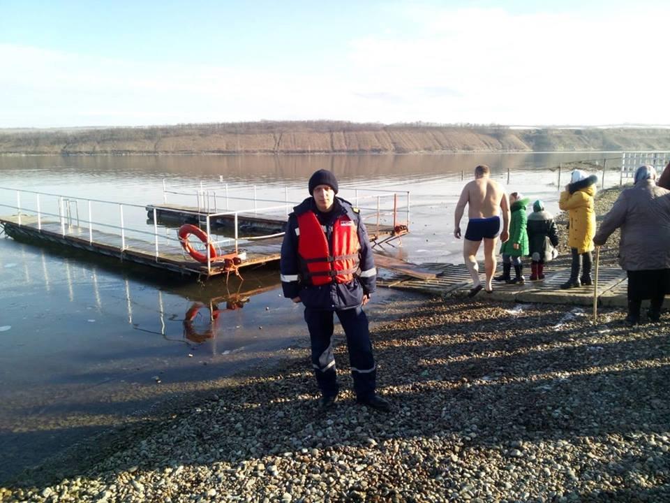 Рятувальники Кам'янеччини подбали про безпеку під час водохрещенських купань, фото-2