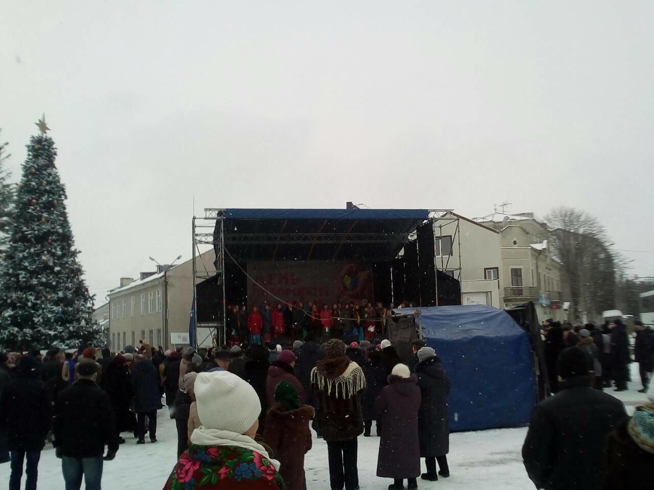 Подільський центр ПТО представив виставку на міжобласному заході до Дня Соборності України, фото-1
