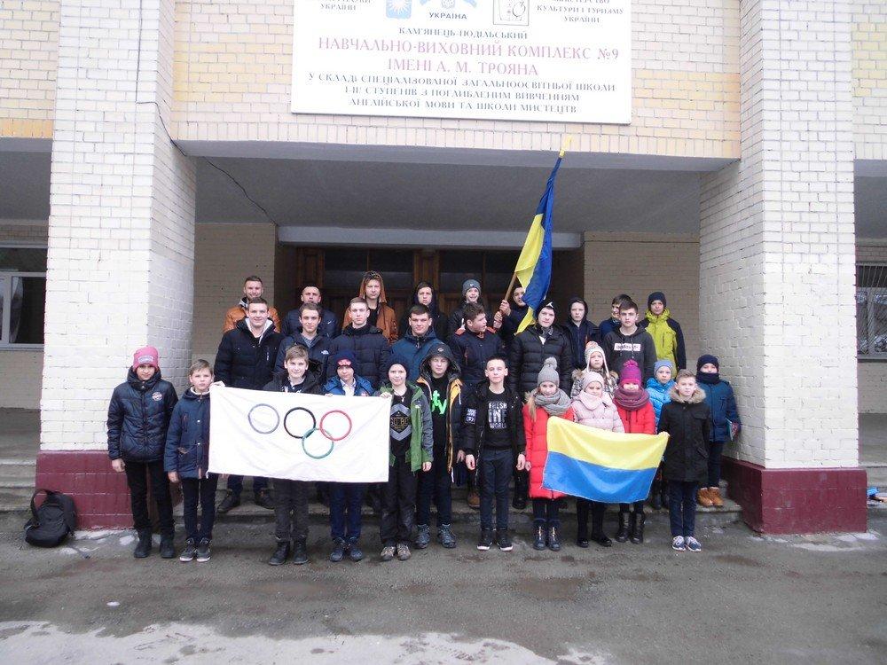 Кам'янецькі діти долучились до акції «Підтримай Національну олімпійську збірну України!», фото-2