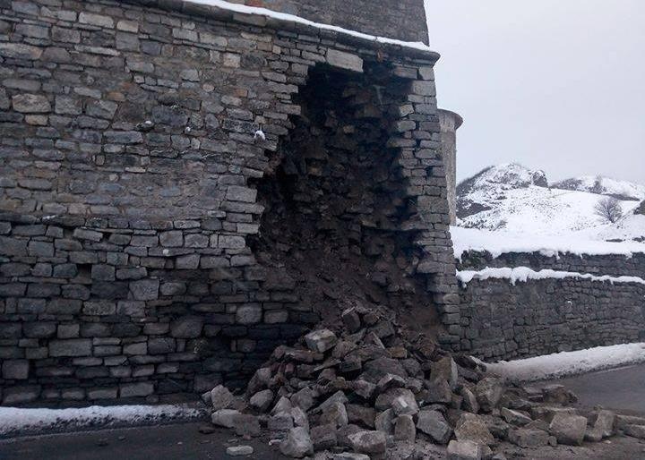 Стіна яка обвалилась 14 лютого була збудована у 1870-их роках. Прес-конференція із Олександром Зарембою, фото-1