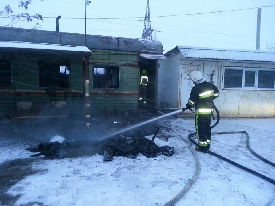 По вулиці Маршала Харченка ліквідували пожежу, фото-1