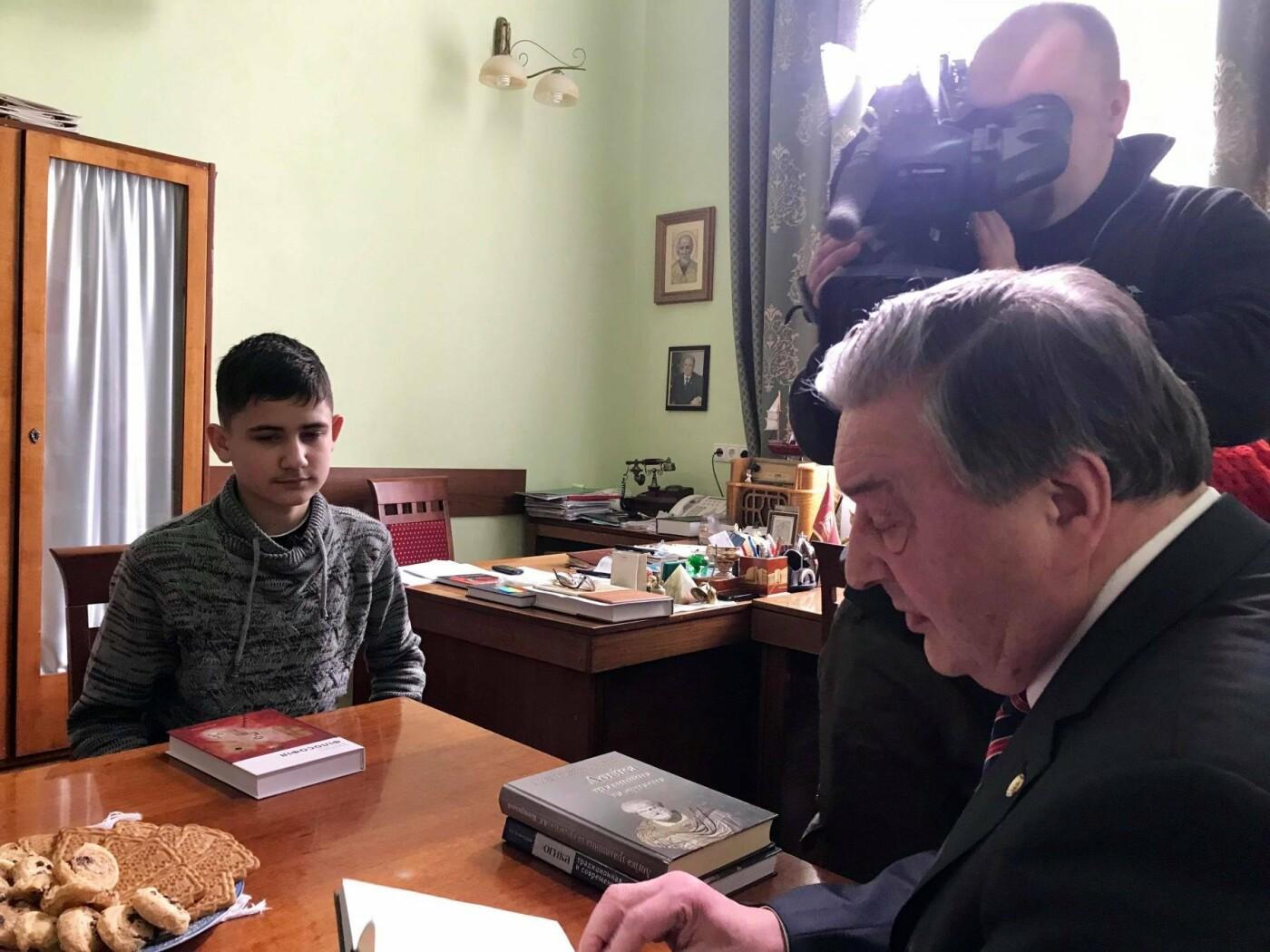 """15-річний кам'янчанин здійснив мрію з допомогою  телеканалу """"1+1"""", фото-2"""