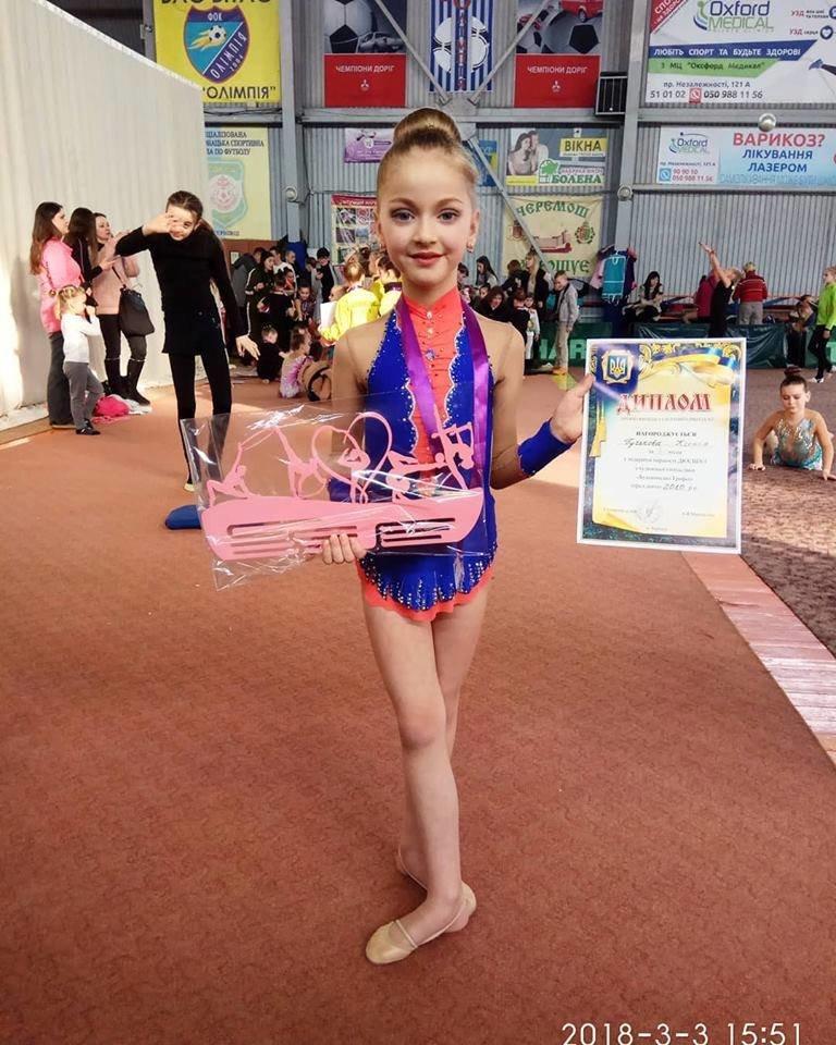СЗОШ №1 вітає юних спортсменок із призовими місцями на змаганнях із художньої гімнастики, фото-2