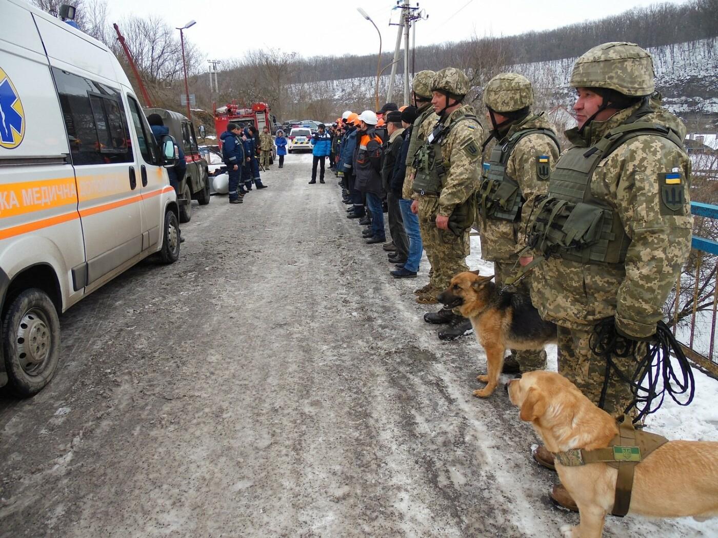 У Кам'янці пройшли навчання військових та рятувальників, щодо пропуску льодоходу, повені та паводків, фото-10