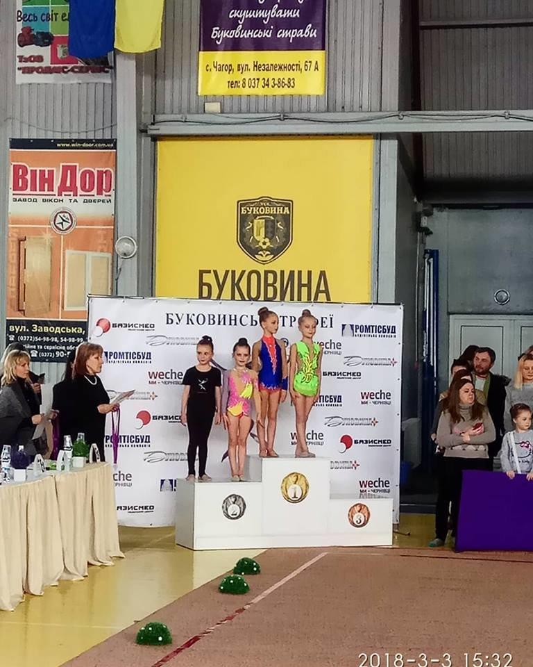 СЗОШ №1 вітає юних спортсменок із призовими місцями на змаганнях із художньої гімнастики, фото-3