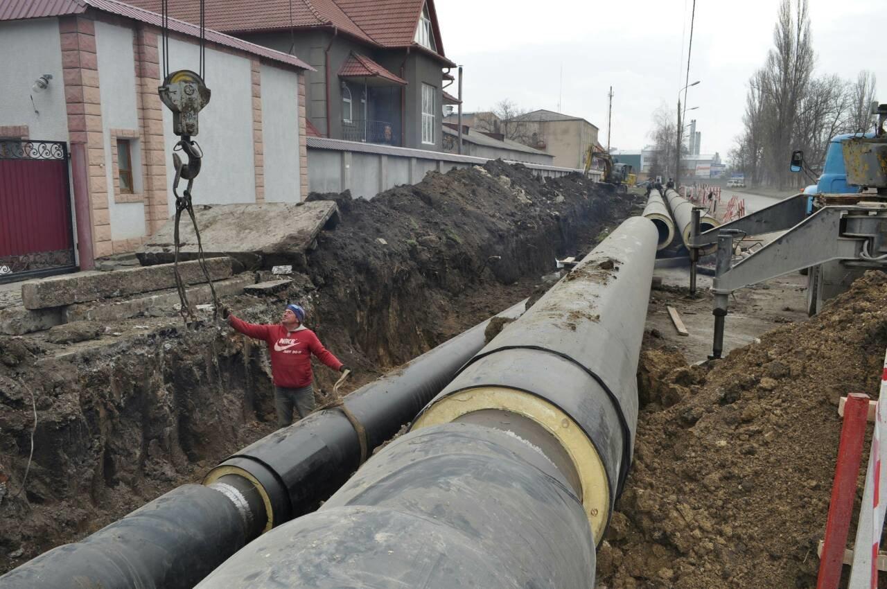 На вулиці Драй-Хмари розпочато будівництво нової тепломережі, фото-2