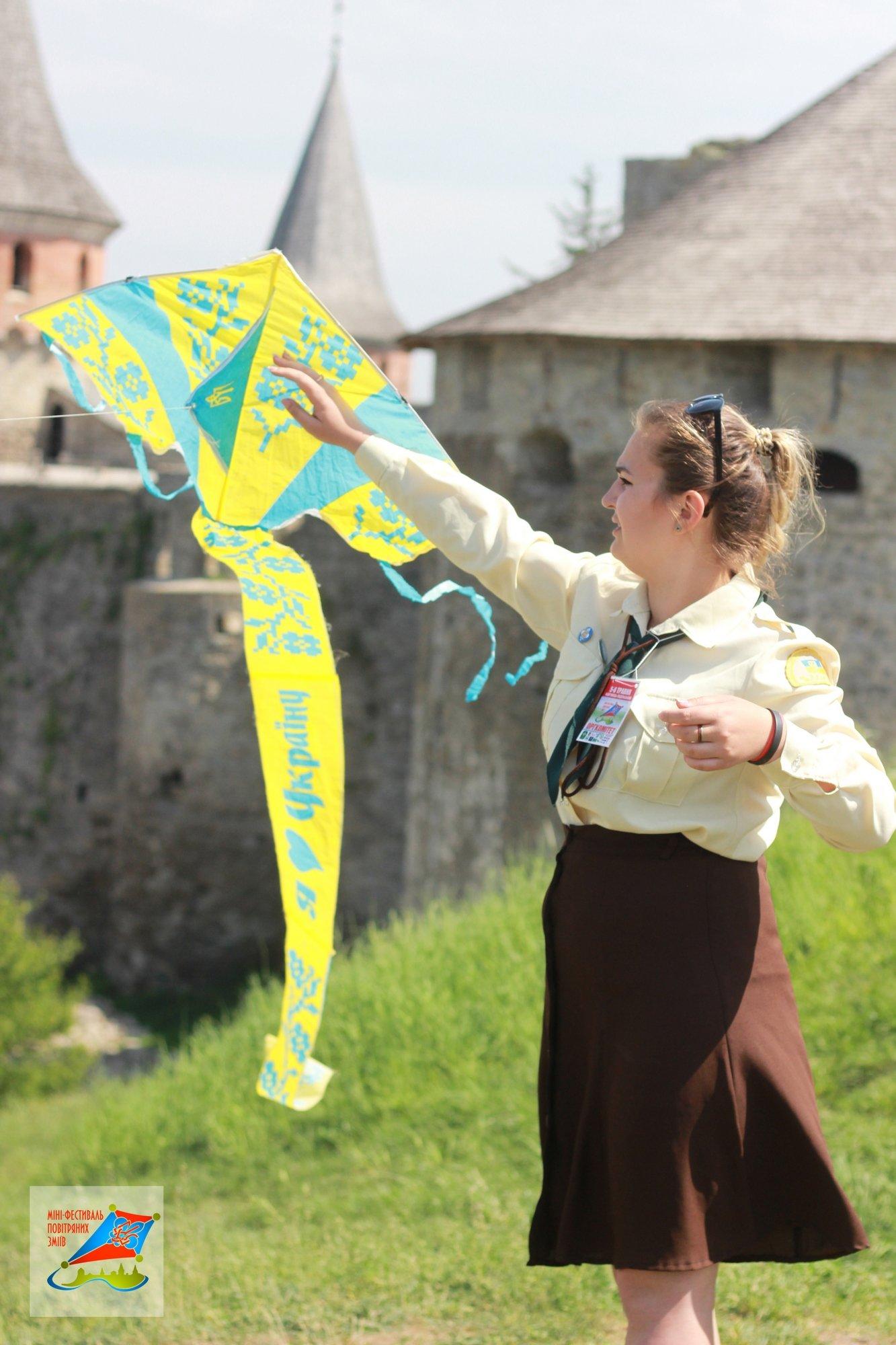 """Як ми ловили вітер над стінами Старого Замку, або Про міні-фестиваль """"Повітряних зміїв"""" у Кам'янці-Подільському, фото-7"""