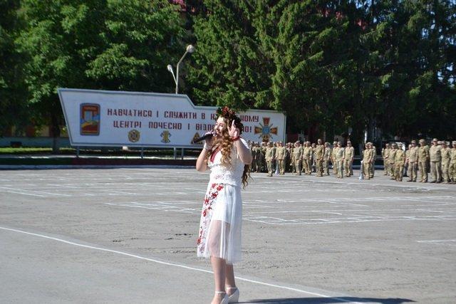 Кам'янецькі військові святкували річницю створення 201 начального центру в/ч А1884, фото-6
