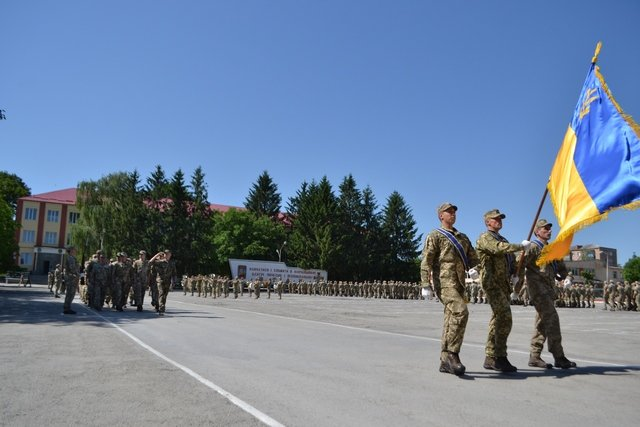 Кам'янецькі військові святкували річницю створення 201 начального центру в/ч А1884, фото-7