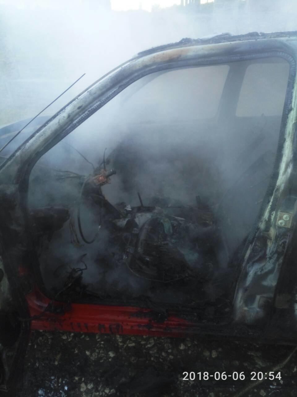 У Кам'янець-Подільському районі з невідомих причин загорівся автомобіль, фото-1