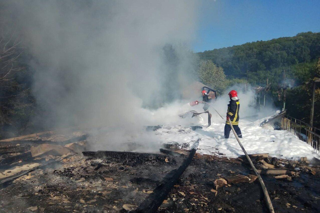Кам'янецькі вогнеборці врятували ліс від пожежі, фото-2