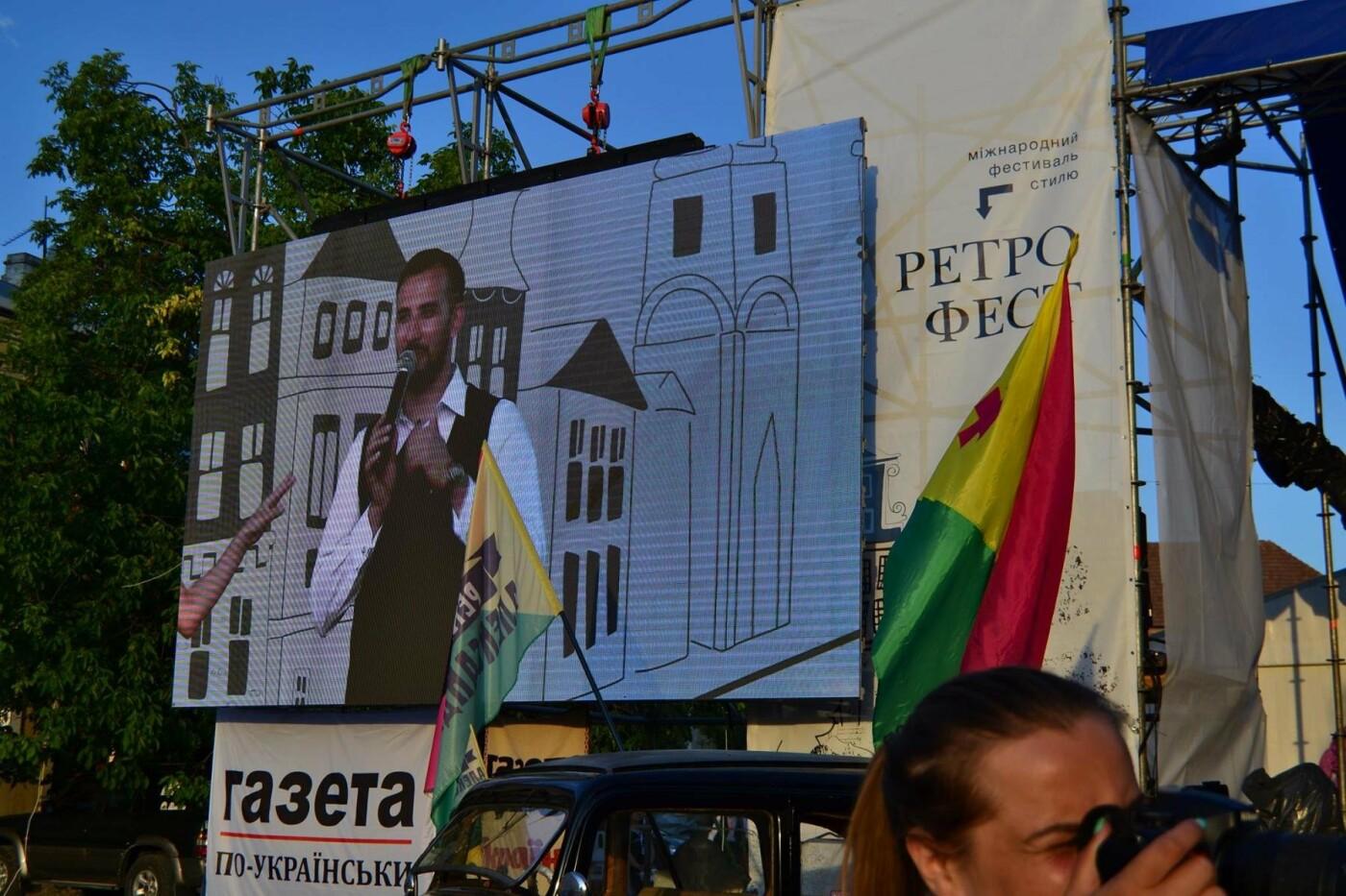 """Мандрівка в минуле: у Кам'янці пройшов фестиваль стилю """"РетроФест"""", фото-10"""