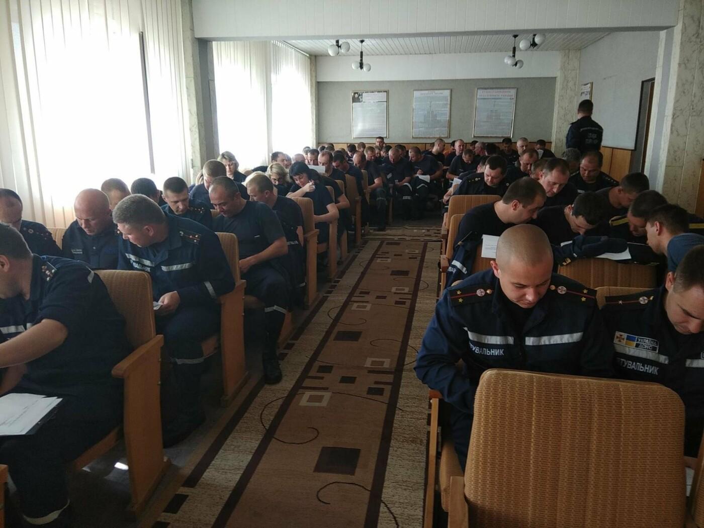 Кам'янецькі рятувальники екзамен на профпридатність пройшли на відмінно, фото-1