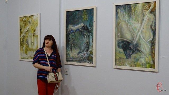 """Метаморфози"" кам'янчанина Бориса Негоди представили у Хмельницькому, фото-3"