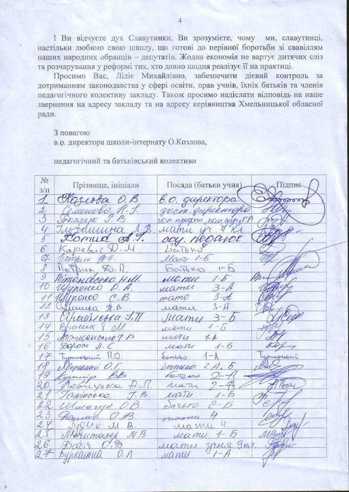 """Хотіли перейменування, а отримали закриття: Хмельницька ОДА закрила початкову школу """"Славутинки"""", фото-4"""