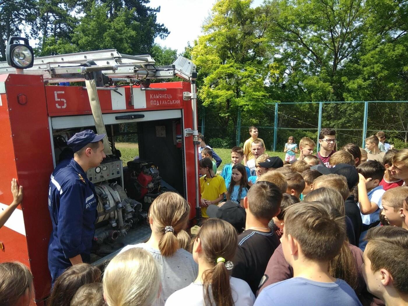 """Рятувальники завітали до """"Лісової пісні"""" аби нагадати дітям правила, що можуть зберегти життя, фото-2"""