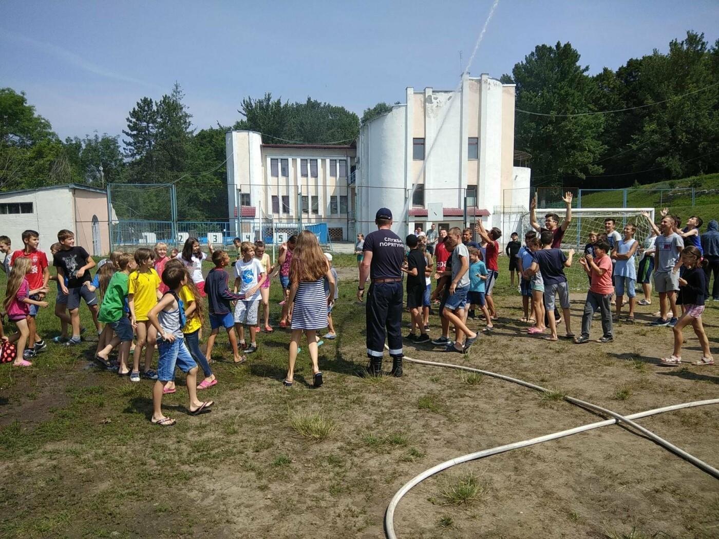"""Рятувальники завітали до """"Лісової пісні"""" аби нагадати дітям правила, що можуть зберегти життя, фото-5"""