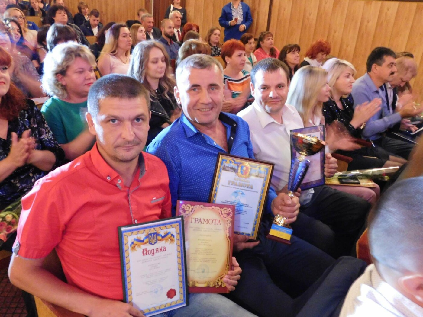 """У """"Розмаї"""" вітали державних службовців Кам'янець-Подільського району, фото-12"""