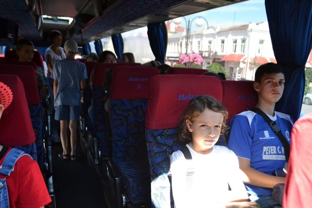 Майже півсотні маленьких кам'янчан відправилися в туристичну подорож до Польщі, фото-1