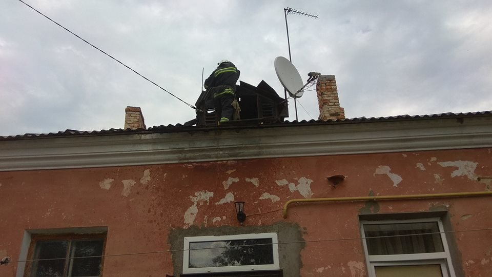 У Кам'янці на Татарській горів будинок, фото-1