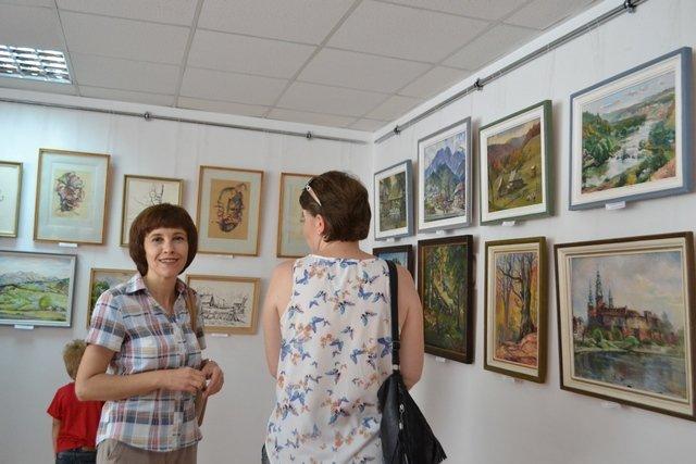 Від графіки до живопису: у виставковій залі відбулась виставка картин відомого архітектора, фото-1