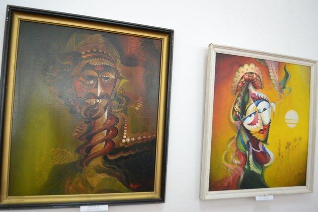 Від графіки до живопису: у виставковій залі відбулась виставка картин відомого архітектора, фото-2